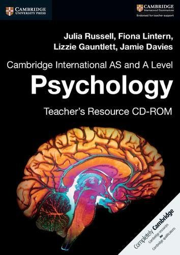 Cambridge International AS and A Level Psychology Teacher's Resource CD-ROM