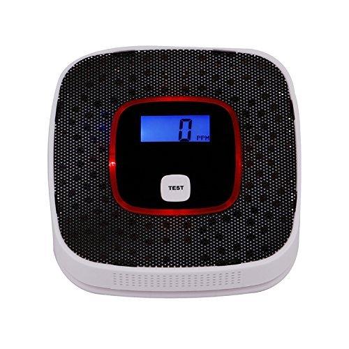 Kohlenmonoxid Warnmelder, CO Melder JKD-616. Intelligent mit LCD Anzeige. Langzeit Melder und intelligente Sprachansage bei hoher Kohlenmonoxid Konzentration.