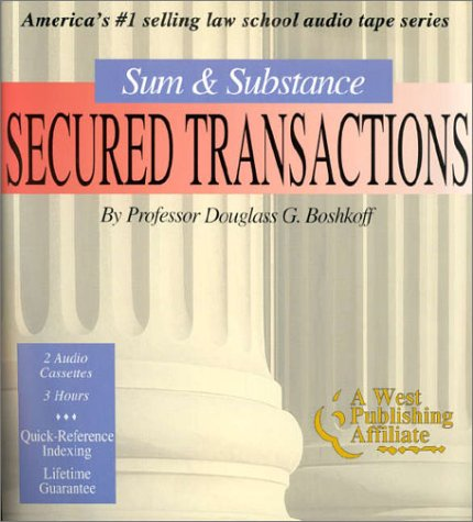 Secured Transactions (Set of 2 Audio Cassettes) (The Outstanding Professor Audio Tape Series) (Tape Cassette 2 Set)