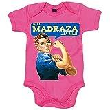Body bebé para madraza la mía Día de la Madre - Rosa, 12-18 meses