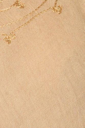 Sakkas täglichen Wesentliche Kaftan Trägerkleid / Deckel Sand