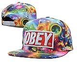 zenrante-sd Unisex ajustable Cool gorro de béisbol Obey snapback en la pista Dual Color tapa