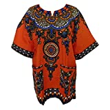 Damen traditionell Afrika Drucken Nation Baumwolle die Kleid