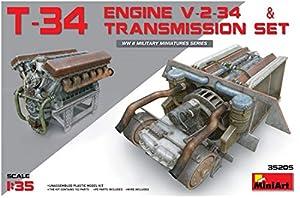 Unbekannt Mini Tipo 35205-Accesorios de construcción T de 34Engine y Transmission Set