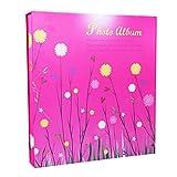 SESO UK- Interstitial Fotoalbum, Hochzeit Memo Alben, für 500 Fotos mit Einer Größe von 6x4/10.2x15.2cm (4D) (Farbe : Rot)