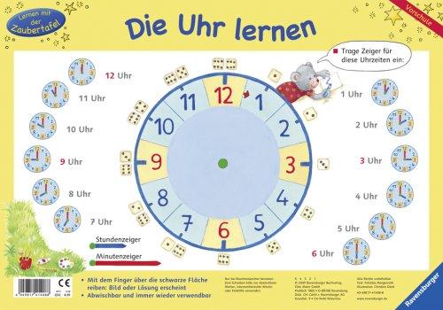 Die Uhr lernen (Lernen mit der Zaubertafel) gebraucht kaufen  Wird an jeden Ort in Deutschland