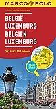 MARCO POLO Länderkarte Belgien, Luxemburg 1:300 000 (MARCO POLO Länderkarten)