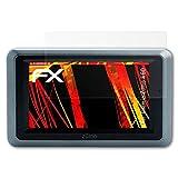 atFoliX Folie für Garmin Zumo 660 Displayschutzfolie - 3 x FX-Antireflex-HD hochauflösende entspiegelnde Schutzfolie