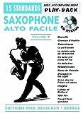 partition saxo facile vol 4 cd