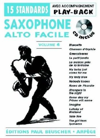 Partition : Saxo facile vol.4 + CD