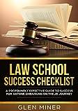 #6: Law School Success Checklist