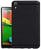 Jkobi 360* Protection Premium Dotted Designed Soft Rubberised Back Case Cover For Lenovo PHAB 16 GB 6.98 inch (PB1-750M) -Black