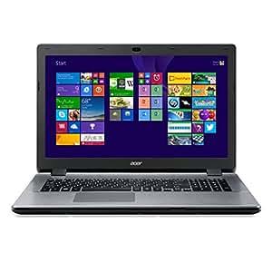 """Acer Aspire E5-771G-55WY PC portable 17"""" Gris (Intel Core i5, 8 Go de RAM, disque dur 1 To, Carte NVIDIA 2 Go, Windows 8.1)"""