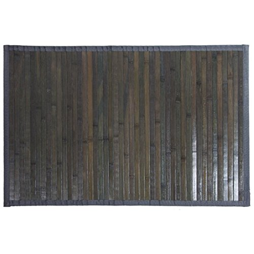 Creaciones meng - Alfombra Bambu Gris Ref-13199
