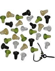 Arrêts de Crochets Perles de Caoutchouc Beads Engin de Pêche à la Carpe 20 pcs/lot
