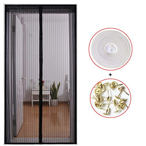 KE & LE Cortina mosquitera magnética Puertas Puerta