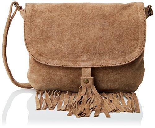 Gocco S75XBGNV701, Bolso para Niñas, Marrón (Camel Oscuro), S Gocco