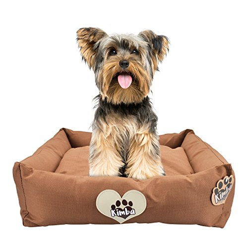 Kimba Cama de Viaje de Lujo y Lavable para Perro para Coche & Hogar - Pequeño (50 x 50cm)