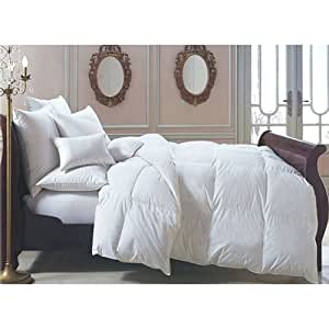 couette duvet canard plumes neuves 200x200cm 800 g m2. Black Bedroom Furniture Sets. Home Design Ideas