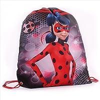 Vadobag 666_3155 Miraculous Tales of Ladybug Gym Bag, Black