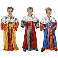 Atosa Disfraz de rey mago niños ...