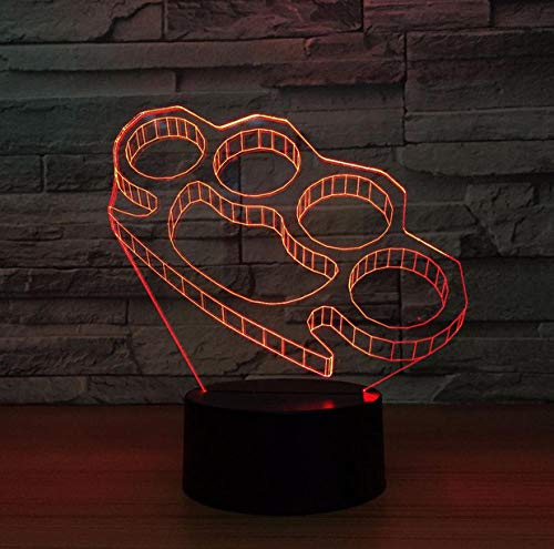 ZJFHL 3d Spiel Licht Boxen Night Light Baby 3D Mood Lamp RGB Changeable Lighting Base Acrylic Crafts for Birthday Holiday Christmas Party Decoration