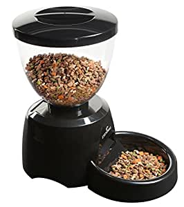 Distributeur de croquettes programmable Pet Feeder pour chats et petits chiens (piles non fournies)/EYENIMAL.