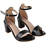 Do Bhai Women Material Synthtic Stylish Fashion Heel Sandal HN-1550-WB-EU