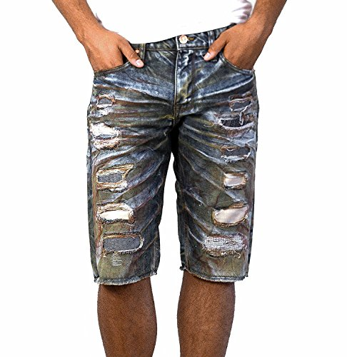 3a9f25970af99f Jordan Shredded Denim Shorts from Craig Legacy Edition