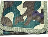 Camouflage Wallet With Zip Coin Compartment {Light Green}