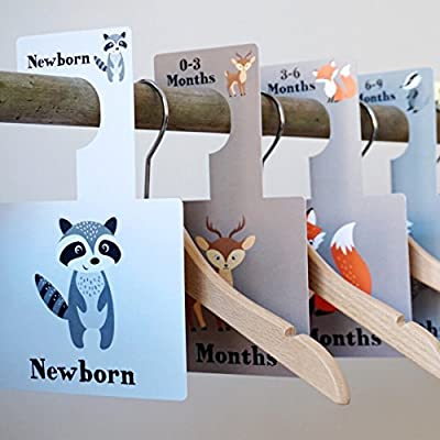 Wardrobe Dividers - Woodland Animals produced by Belo and Me - quick delivery from UK.