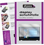 dipos I 2X Schutzfolie klar passend für Medion Akoya E3216 Folie Bildschirmschutzfolie