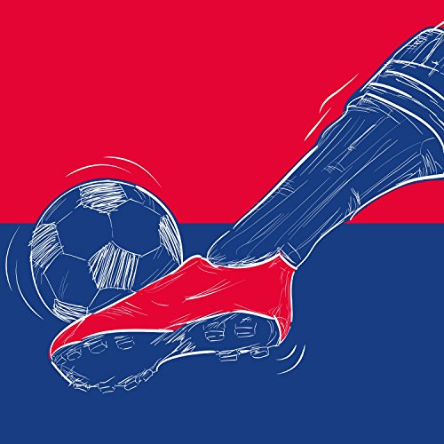 locker-wallpaper-football-red-blue-soccer-print-football-great-gift-for-students-colour-red-blue