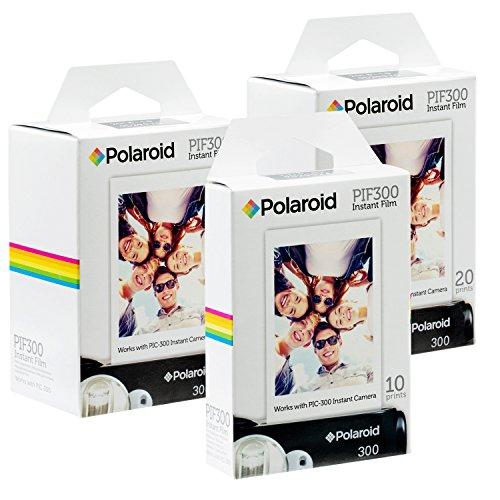 Polaroid PIF300 Instant Film - Entwickelt für die Nutzung mit den Kameras Fujifilm Instax Mini und PIC 300 (50 Blatts) (Kamera Polaroid 300)