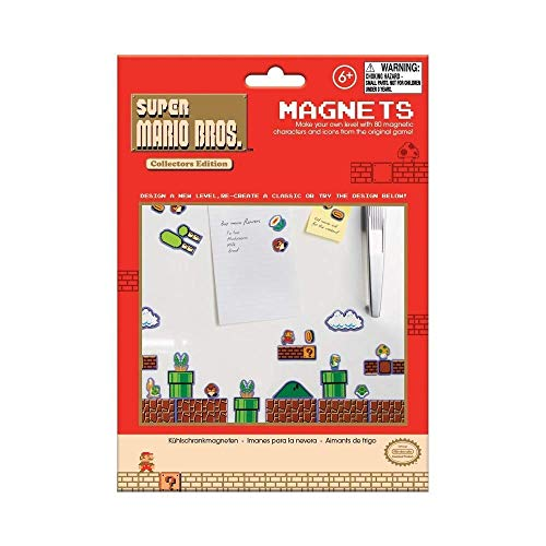 Flashpoint AG Super Mario Magnets (Mushroom Red Mario Super)