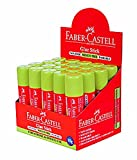 Faber-Castell Glue Stick - 15 Grams, Box of 20 Pieces