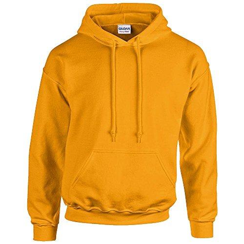 Gildan - Unisex Kapuzenpullover \'Heavy Blend\' , Gold, Gr. S