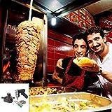 Wokee Dönerschneider Dönermesser Döner Kebabmesser Kebabschneider Kebab Professionelle drahtlose elektrische Shawarma Döner Kebab Messer, Kebab Slicer, Gyros Messer/Gyro Cutteröner Kebab