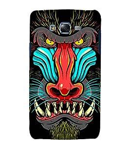 printtech Nature Baboon Design Back Case Cover for Samsung Galaxy A3 / Samsung Galaxy A3 A300F