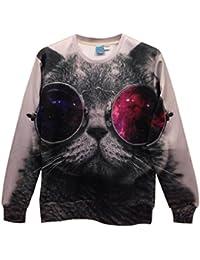 Demarkt Individualisé Sweat-shirts/Sweat/Sweat Swag Imprimé 3D Image sans Capuche M / L/ XL pour les Homme