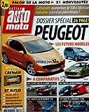 AUTO MOTO [No 128] du 01/11/2005 - salon de la moto - 31 nouveautes - carburants -...