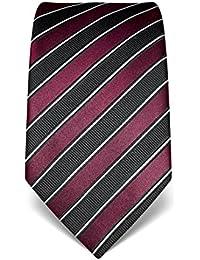 VB Herren Krawatte aus reiner Seide, gestreift, in vielen Farben