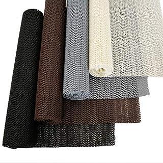 Antirutsch-Matte Schwarz Antirutschunterlage Teppichunterlage Schubladeneinlage für Teppich, Küche, Auto, Schublade - Rutschunterlage Rutschstopp für sicheren Halt für Tischdecke, Fußmatte, Kofferraummatte zuschneidbar, schwarz 30 x 150 cm