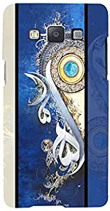 PRINTVISA Pattern Abstract Design Case Cover for Samsung Galaxy E7 (Multicolour)