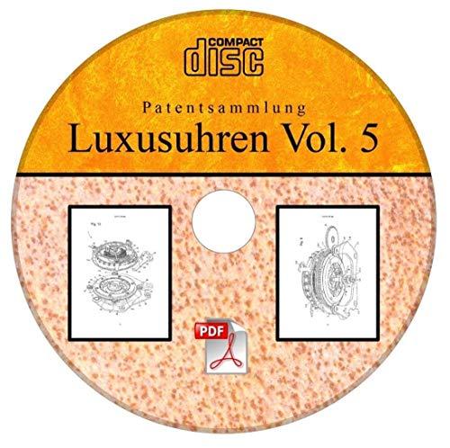 Glashütte Original Luxusuhren 21 Patente der Glashütter Uhrenbetrieb GmbH auf CD