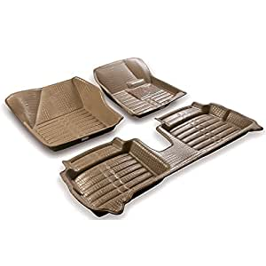 Coozo 5D Mats Beige Color For Honda City