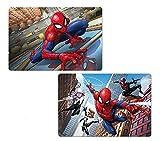 Spiderman Marvel Kinder 3D Tisch Matte Tisch-Sets (Set von 2)