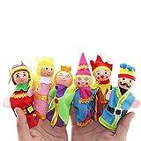 Fulltime®Jouets éducatifs pour enfants,Doigt de 6pcs jouets marionnettes