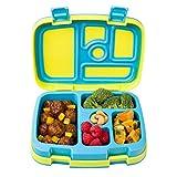 Bentgo Kids Brights - Kinder Lunchbox/Bento Box/Brotdose mit 5 Unterteilungen, auslaufsicher (Citrus)