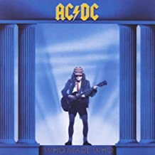 AC/DC. WHO MADE WHO. ORIGINAL 1986 ISSUE CD ALBUM by AC/DC